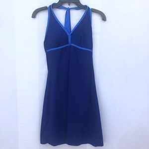 Tommy Bahama sz XS blue dress bathing suit halter